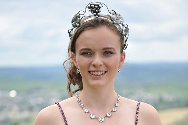 Die neue Leiwener Weinkönigin kommt vom Georghof